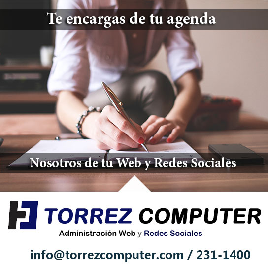 Nosotros nos encargamos de tu web tu de tu agenda
